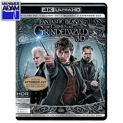 Fantastic Beasts: The Crimes Of Grindelwald 4K/3D/2D + Extended Cut