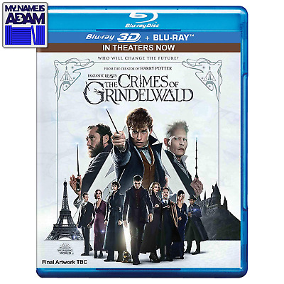 Fantastic Beasts: Grindelwδld 3D + 2D (Region Free) See Pictures For Detail