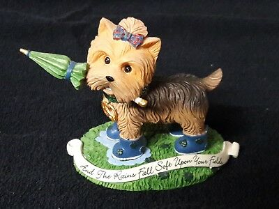 Hamilton And The Rains Fall Soft Upon Your Fields Irish Blessing Yorkie Collect.