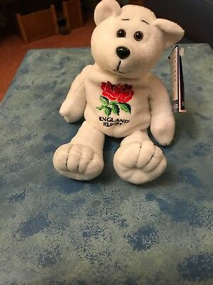 Genuine Ty Retired Beanie Baby England Rugby