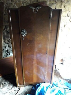 small reproduction wardrobe ideal for up cycling/shabby chic