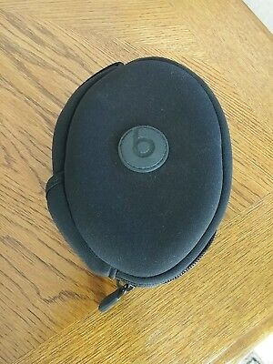 Genuine Beats By Dr. Dre Solo HD Wireless Headphone Soft Carrying Case Black
