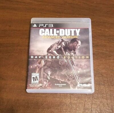 Call of Duty: Advanced Warfare Day Zero Edition PS3 PlayStation 3