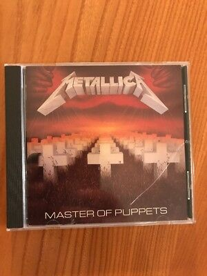 Metallica - Master Of Puppets 24 Karat Gold Cd