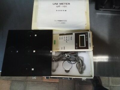 USHIO UIT-101 UNI METER with accessory  GOOD WORKING CONDITION