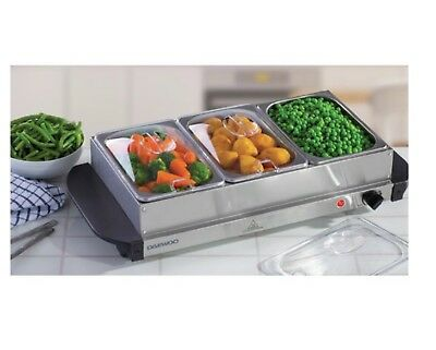 Daewoo5 L Stainless Steel Electric Buffet Server