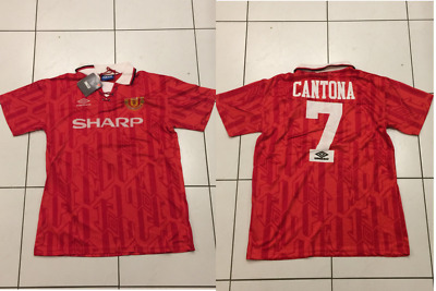Manchester United 1992/1993/1994 Home Football Shirt Jersey Cantona Large