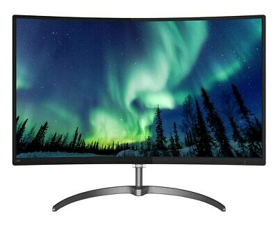 Philips 278E8QJAB 27 inch LED Curved Monitor - Full HD, 4ms, Speakers, HDMI