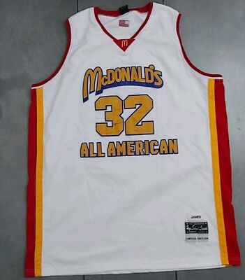 276415435a4b Lebron James Basketball Jersey Limited Edition Size 56 McDonalds All  American