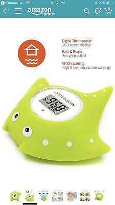 MotherMed Baby Bath Termometer And Floating Toy BathTub And SwimmingPool Thermom