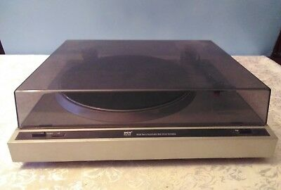 Vintage MCS  6202 Semi Automatic/Belt Drive Turntable With Dust Cover working.