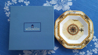 Wedgwood Atlas Bone China Dish, 8-eckiges Schälchen in Originalbox