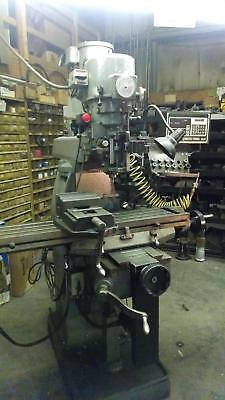 "Sharpe LMV 42""Table 3Hp 220/440 Volt 3Ph Milling Machine W/Proto Trak D.R.O"