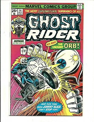 GHOST RIDER (Vol.1) # 14 (CENTS ISSUE, OCT 1975), VF+