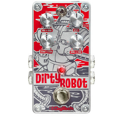Digitech Dirty Robot Stereo Mini-Synth Guitar Effect Pedal - DIRTYROBOT