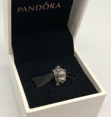 Authentic Pandora Sterling Silver Bead Charm 791105 Scottie Dog Puppy Pre-Owned