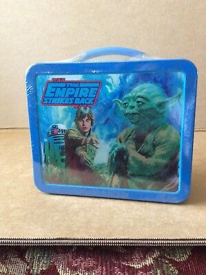 Star Wars the Empire Strikes Back Hallmark School Day Lunch Box Numbered