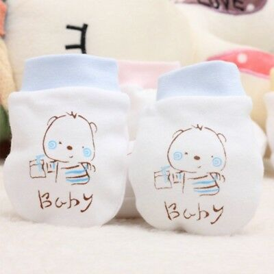 Warm Boy Girl Baby Anti-grasping Gloves Face Protection  Anti scratching Cotton