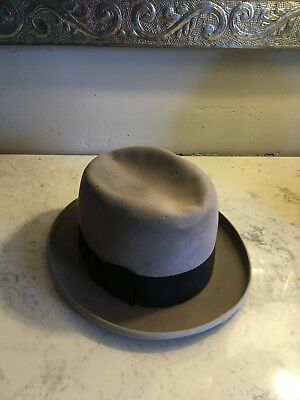 Vtg STETSON Fedora Size 7 1/4 *as-is