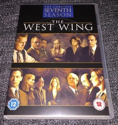The West Wing DVD Boxset Complete Seventh Season (Series 7)(2009 6-Disc)SLIMLINE