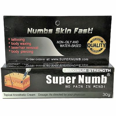 30g Super Numb painless numbing cream painless tattoo piercings waxing laser Dr