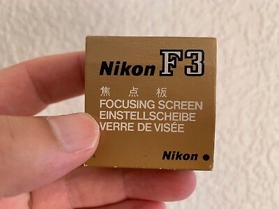 Nikon F3 H2 type focusing screen