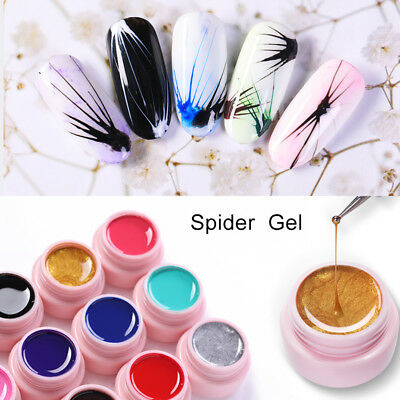 UR SUGAR 5ml Spider UV Gel Polish Elastic Drawing Soak Off Gel Nail Art Manicure