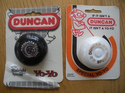 LOT of 2  VINTAGE DUNCAN YO YOs MOC NEVER OPENED
