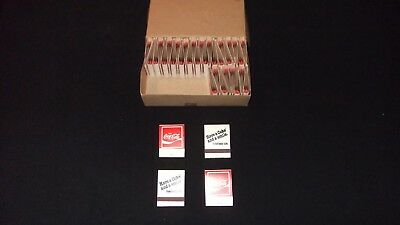 Coca Cola Matchbook Lot Of 35 Book Matches Have a Coke And A Smile Adds Life