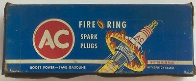 8 VINTAGE AC FIRE RING SPARK PLUGS  AC GROUP 1  48  nos