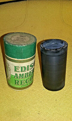 Antique Edison Amberol 4 Minute Cylinder Record 962 Moonlight Bay NR