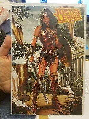 Justice League #1 Mark Brooks Exclusive Signed by Brooks & Scott Snyder w/ COA