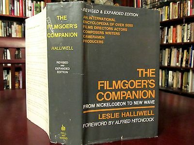 FILMGOER'S Companion, Nickelodeon to New Wave, Hitchcock fwd, 847 pages DJ1stHB
