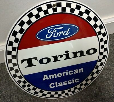 Ford Torino Sign