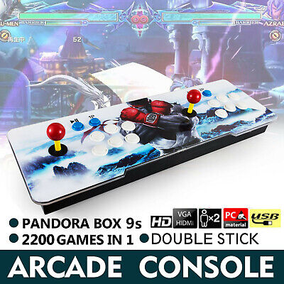 2200 in 1 Pandora Box 9s Retro Video Games Double Stick Arcade Console 2 Players