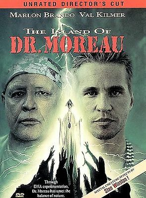 The Island of Dr. Moreau (DVD, Unrated Director's Cut) Marlon Brando, Val Kilmer