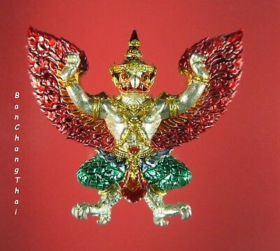 Garuda (Phaya Krut) 神鹰, Thai Amulet, Power & Fortune, LP Whan, Wat Klong Koon #1