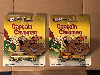 Hot Wheels Pop Culture Hanna Barbara '64 GMC Panel Lot Of 2