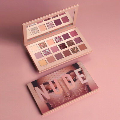 Huda Beauty The New Nude Matte 18 Colors Eyeshadow Palette Shimmer Make Up AU2