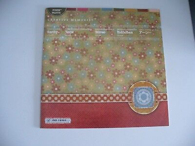 Creative Memories Earthy Ideas Booklet (The ideas are ideal for Heritage albums)