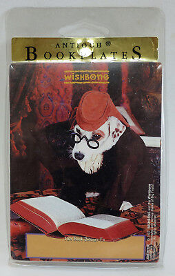 Wishbone PBS Dog 15 New BOOKPLATES in Package Self-stick Jack Russell Terrier