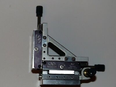 Newport Ultralign 462-XYZ-M Crossed-Roller Bearing linear stage with actuators