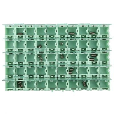 50Pcs Green SMT SMD Container Box Electronic Components Mini Storage Case LJ