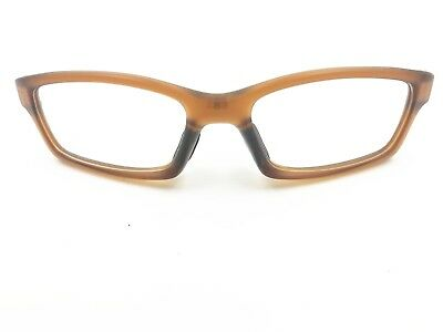 New Replacement Eye Frame for Oakley Crosslink OX8027 Satin Rootbeer Glass 53mm