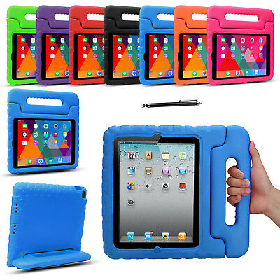 Kids Shockproof Case Cover EVA Foam Stand For Apple iPad Pro Mini 1 2 3 4 Air 2