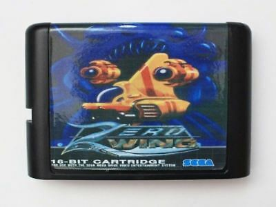 Zero Wing 16 bit SEGA MD Game Card For Sega Mega Drive For Genesis