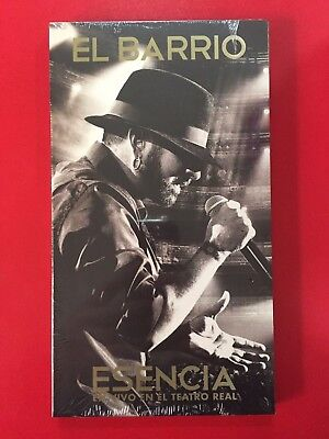 ★ EL BARRIO - Esencia, En Vivo En El Teatro Real - CD + DVD DIGIPAK - SPAIN 2015