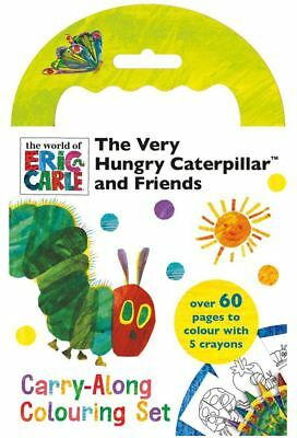 The Very Hungry Caterpillar Childrens Carry Along Colouring Set Activity Gift