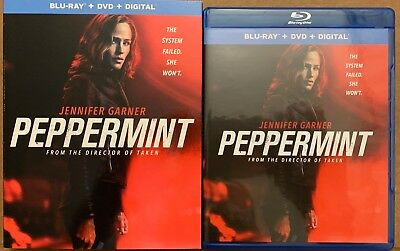 Peppermint Blu Ray Dvd 2 Disc Set + Slipcover Sleeve Free World Wide Shipping