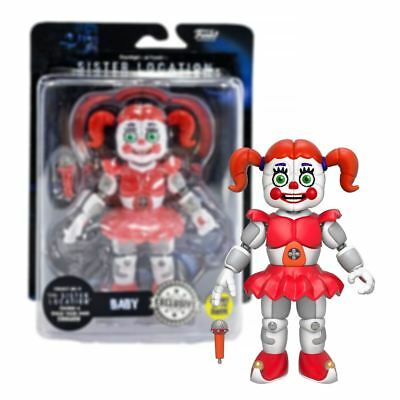 New Five Nights At Freddy's Sister Location Baby Doll Glow Figure Official